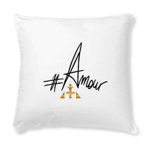 Coussin + Housse #Amour